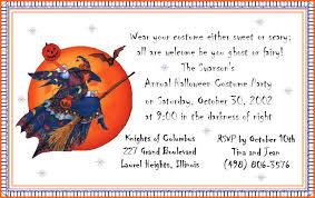 halloween birthday party invitation ideas oxsvitation com