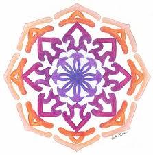 radial symmetry u0026 color radial name mandala lessons tes teach