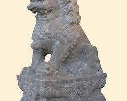 fu dog statues foo dog statue etsy