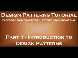 design pattern c gang of four introduction to design patterns youtube