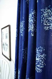 Blue Window Curtains Indigo Curtains Window Curtain Indigo Blue Bedroom Is Sold