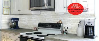 self adhesive glass backsplash tiles peel and stick glass tile