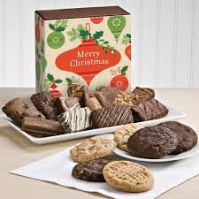 christmas cookie u0026 sprite combo christmas gourmet brownie and