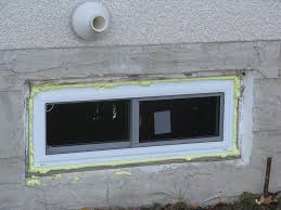 tremendous how to install a basement window replacement