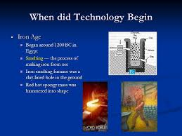 technology when did technology begin technological time line on
