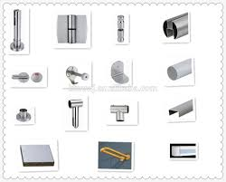 Toilet Partition 12 18mm Phenolic Board Zinc Alloy Toilet Partition Accessories