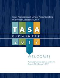 2017 midwinter conference program by texas association of