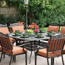 Patio Table Seats 8 Darlee Charleston 9 Piece Cast Aluminum Patio Dining Set