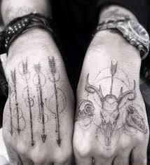 66 hand tattoos