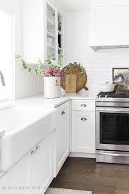 white kitchen cabinets with farm sink how to clean a white apron front farmhouse sink so much