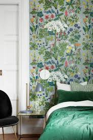 green wallpaper room 25 modern ways to use floral wallpaper