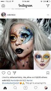 best 25 crazy makeup ideas on pinterest crazy halloween makeup