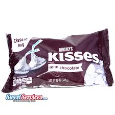 hershey silver kisses classic 12 oz bag silver