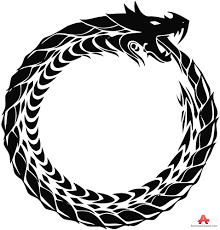 tribal ouroboros snake dragon clipart free clipart design download