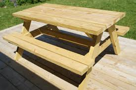 beautiful wood picnic table plans 74 for home design ideas with