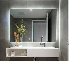 stylish bathroom mirror with lights and mirror bathroom light 25