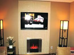 fireplace wall images ideas pinterest mounted gas ventless 554