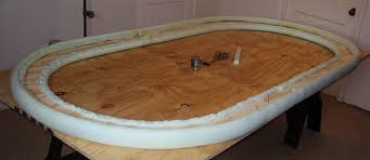 how to build a poker table how to build the classic poker table diy plans rail core foam