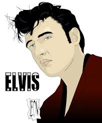 elvis cartoon coloring pages