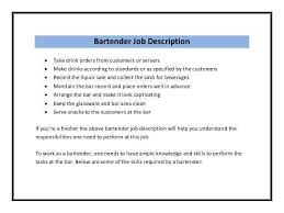 sle resume for bartender position available immediately through iquote bartender duties resume best resume collection