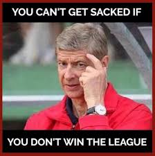 Arsene Wenger Meme - how claudio ranieri getting sacked by leicester ended up with arsene