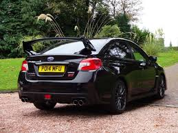 subaru wrx all black subaru wrx 2 5 sti type uk 4d 300 bhp free delivery to your d