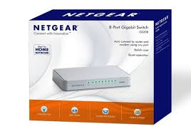 Home Network Design Switch Netgear Gs208 100uks 8 Port Gigabit Ethernet Desktop Switch