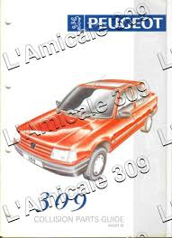 1993 uk peugeot 309 collision car parts by l u0027amicale 309 issuu