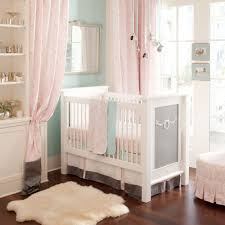 Mini Cribs by Ritzy Baby Crib Skirt Two Front Pleats Carousel Designs