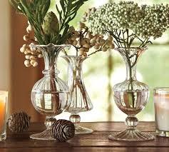 3 Vases Set Rippled Glass Bud Vase Set Of 3 Pottery Barn