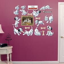 101 dalmatians puppy collection wall decals by fathead