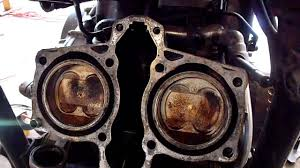 honda magna head removal for gasket replacement youtube