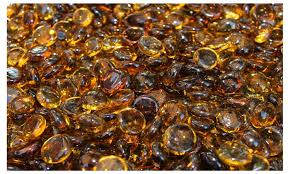 Fire Pit Glass Beads by 37 Off On Caramel Fire Glass Beads For Groupon Goods