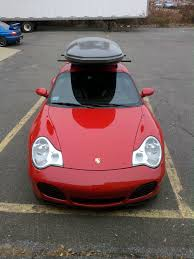 pink porsche 911 porsche 911 carrera c4s 996 u2013 custom roof rack u0026 cargo box rack
