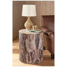 tree trunk end table castlecreek tree trunk end table 664329 living room at