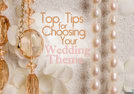 top tips for choosing your wedding theme confetti co uk