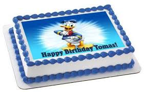 duck cake donald duck edible birthday cake cupcake topper edible prints