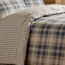 Brushed Cotton Duvet Cover Double Cosy U0026 Warm Duvet Set Tartan Navy Duvet Sets Bedding
