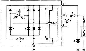 suzuki 4 4 sj413 alternator and charging system circuit