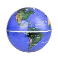 World Map Globe by Magnetic Levitation Maglev Levitating Floating Globe World Map 8
