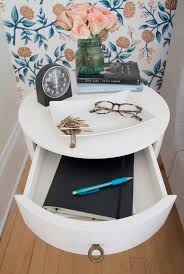 Nightstand West Elm Redesigning An Odd Shaped Bedroom