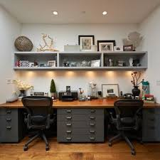 Two Person Home Office Desk 30 Shared Home Office Ideas That Are Functional And Beautiful