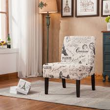 Top  Best Upholstered Accent Chairs Ideas On Pinterest Cream - Printed chairs living room