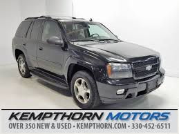 chevrolet trailblazer 2008 used 2008 chevrolet trailblazer for sale canton oh