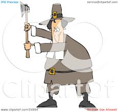 thanksgiving pilgrims clipart clipart illustration of a male pilgrim in a brown hat and clothes