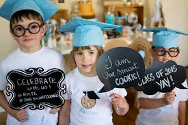 pre k cap and gown you re one smart cookie preschool graduation party evite