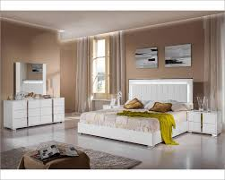 Best Modern Bedroom Sets White Coco Modern Bedroom Set In White - White leather contemporary bedroom furniture