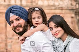 Family Portrait Professional Family Portrait Photographer Delhi India Family