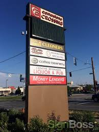 Liquor Signs by Money Lenders Brands With New Business Signs In Gillette Wy