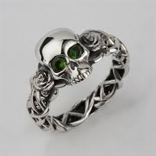 skull wedding bands inexpensive wedding rings skull wedding rings platinum